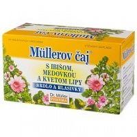 Müllerov čaj S IBIŠOM MEDOVKOU A KVETOM LIPY bylinný čaj 20x1 5g