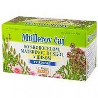 Müllerov čaj SO SKOROCELOM MATER. DÚŠKOU A IBIŠOM bylinný čaj 20x1 5 g