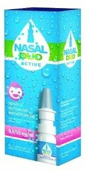 NASAL DUO ACTIVE 0 5/50 mg/ml aer nao 90 dávok 1x10 ml