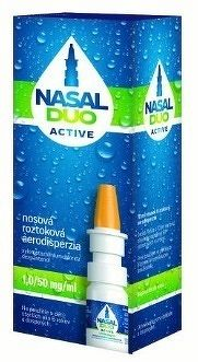 NASAL DUO ACTIVE 1 0/50 mg/ml aer nao 90 dávok 1x10 ml