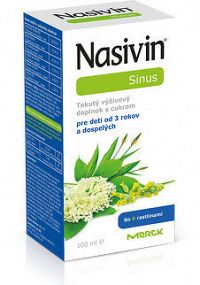 NASIVIN SINUS tekutý výživový doplnok s cukrom 1x100 ml
