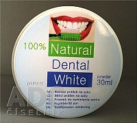 Natural Dental White bieliaci prášok na zuby 1x30 ml