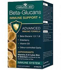 Natures Aid Beta-Glucans Immune Support+ tbl 1x30 ks