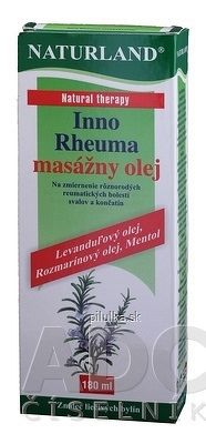 NATURLAND INNO RHEUMA MASÁŽNY OLEJ 1x180 ml