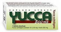 NATURVITA YUCCA 500 mg Yucca shidigera tbl 1x60 ks