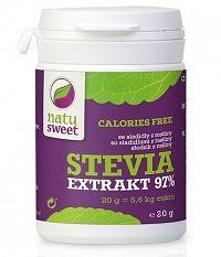 NATUSWEET STEVIA ČISTÝ EXTRAKT 97% sladidlo 1x20 g