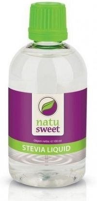 NATUSWEET STEVIA LIQUID sladidlo tekuté 1x100 ml