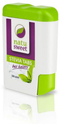 NATUSWEET STEVIA TABS sladidlo, tablety 1x300 ks