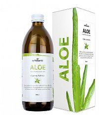 nefdesanté ALOE GÉL šťava z Aloe Vera s dužinou 1x500 ml