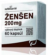 nefdesanté ŽENŠEN 200 mg cps 6x10