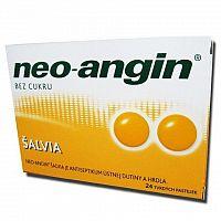 Neo-angin šalvia tvrdé pastilky pas ord 1x24 ks
