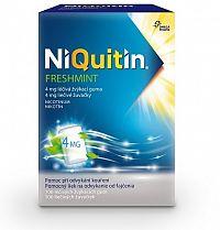 NiQuitin Freshmint 4 mg liečivé žuvačky gum med 1x100 ks