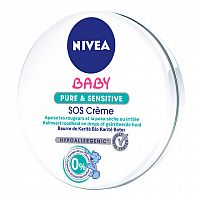 NIVEA BABY NUTRI SENSITIVE SOS KRÉM 1x150 ml