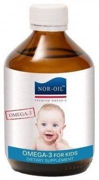 NOR-OIL Omega 3 Panenský lososový olej NATURAL 1x300 ml
