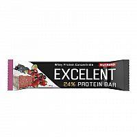 NUTREND EXCELENT protein bar 85g čierna ríbezľa s brusinkami