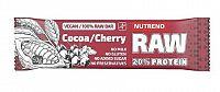 NUTREND RAW PROTEIN BAR 50g kakao+višňa