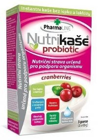 Nutrikaša probiotic - cranberries 3x60 g