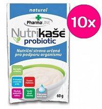 Nutrikaša probiotic - natural 10x60 g