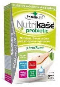 Nutrikaša probiotic - s hruškami 3x60 g