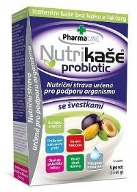 Nutrikaša probiotic - so slivkami 3x60 g