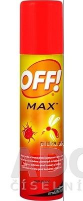 OFF! MAX spray repelent 1x100 ml