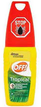 OFF! TROPICAL rozprašovač repelent 1x100 ml