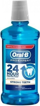 Oral-B Pro-Expert STRONG TEETH ústna voda, Mint, 1x500 ml