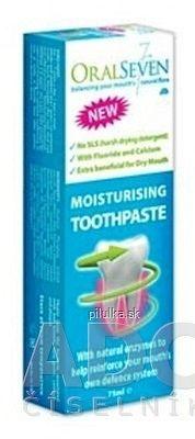 OralSeven zvlhčujúca zubná pasta 1x75 ml