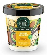Organic Shop - Banánový koktejl - Telový krém
