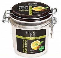Organic Shop - Citrónová káva - Aktívne tvarujúci denný telový krém
