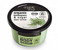 Organic Shop - Citrónová tráva - Telový peeling