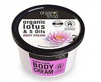 Organic Shop - Indický lotos - Telový krém