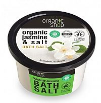Organic Shop - Jazmín - Soľ do kúpeľa