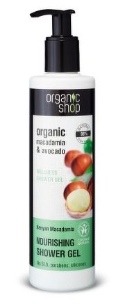 Organic Shop - Keňská Makadámia - Sprchový gél