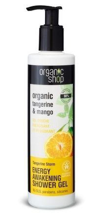 Organic Shop - Mandarínková búrka - Sprchový gél
