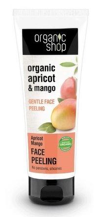 Organic Shop  - Marhuľa & Mango - Jemný peeling na tvár