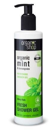 Organic Shop - Mätový dážď - Sprchový gél