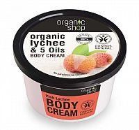 Organic Shop - Ružové Liči - Telový krém