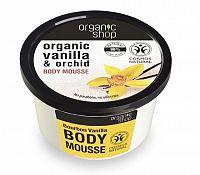 Organic Shop - Vanilka & Orchidea - Telový krém