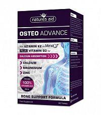 OSTEO ADVANCE s vitamínom D3 a K2- MenaQ7,Vápnik, Magnézium, Zinok pre zdravé kosti   NOVINKA