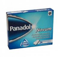 Panadol Novum 500 mg tbl flm 1x24 ks