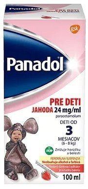 Panadol PRE DETI JAHODA 24 mg/ml sus por 1x100 ml