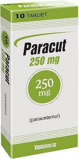 Paracut 250 mg tbl 1x10 ks