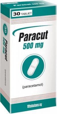 Paracut 500 mg tbl 1x30 ks