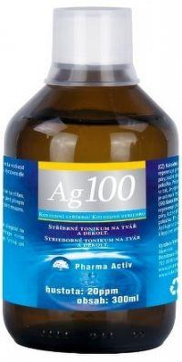 Pharma Activ Koloidné striebro Ag100 hustota 20 ppm, 1x300 ml