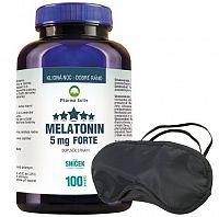 Pharma Activ Melatonín Sníček 5 mg FORTE tbl 100 + škraboška, 1x1 set