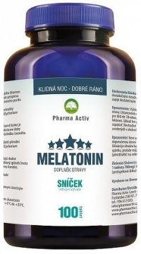 Pharma Activ Melatonín Sníček tbl 1x100 ks