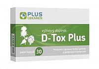 PLUS LEKÁREŇ D-Tox Plus cps 1x30 ks