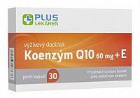 PLUS LEKÁREŇ Koenzým Q10 60 mg + E cps 1x30 ks