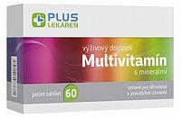 PLUS LEKÁREŇ Multivitamín s minerálmi tbl 1x60 ks